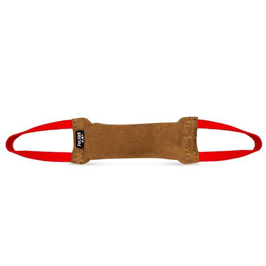 Picture of Julius-K9 Tug - Leather - 25x5,5 cm - Sewn Inside - 2-handle