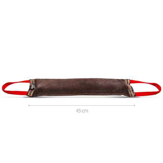 Picture of Julius-K9 Tug - Leather - 45x7 cm - Sewn Inside - 2-handle