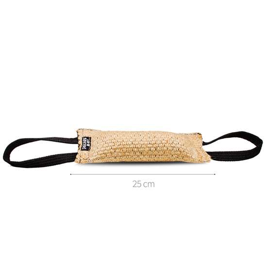 Picture of Julius-K9 Tug - Jute - 25x7 cm - Sewn Outside - 2-handle