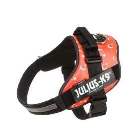 Picture of Julius-K9 IDC® Powerharness, Turkish flag, Size 3