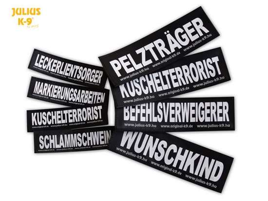 Picture of Premade Patches - small, german