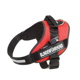 Picture of Blind guide dog harness, Size 1 - Red