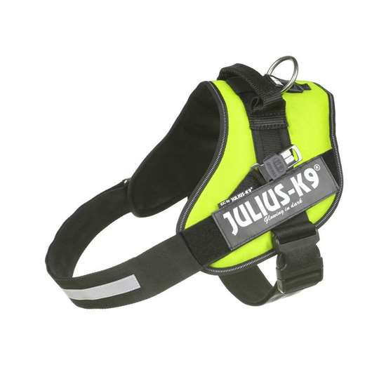Julius-K9 Guide dog harness, Neon Green